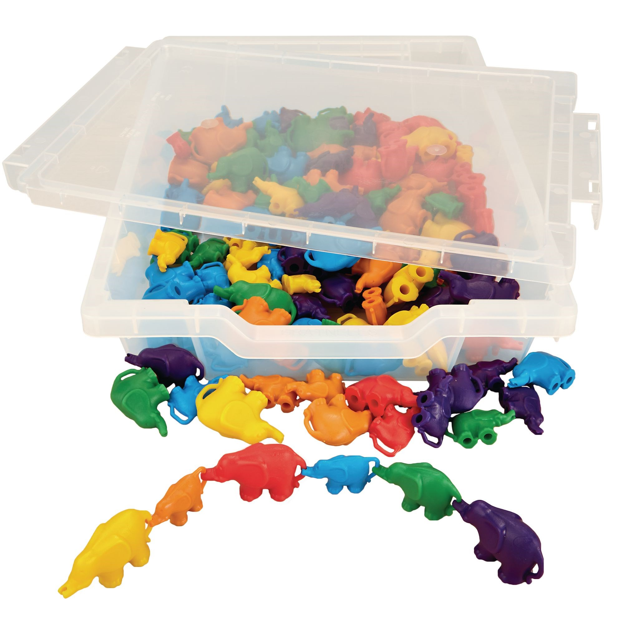 Linking Elephants 6 Colours Pk120
