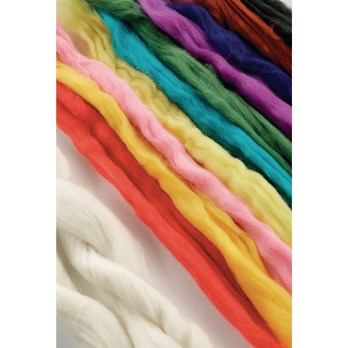 Wool Tops Assorted Colours