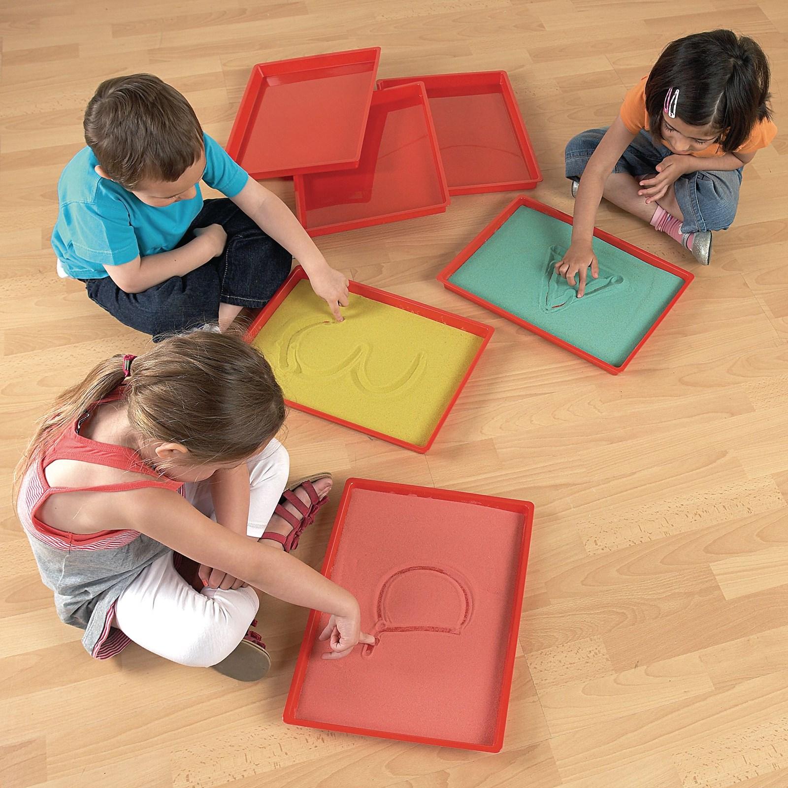 Mini Messy Play Trays - Pack of 6
