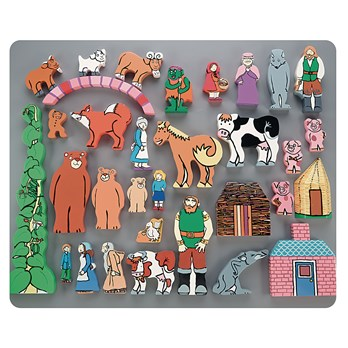Fairytale Wooden Character Set
