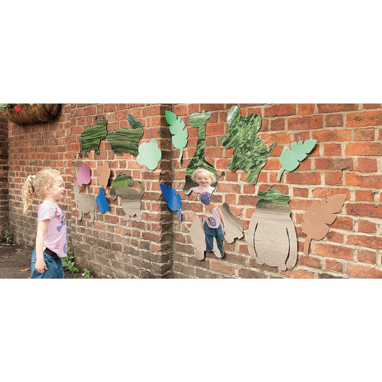 Jungle Mirror Set - Pack of 4