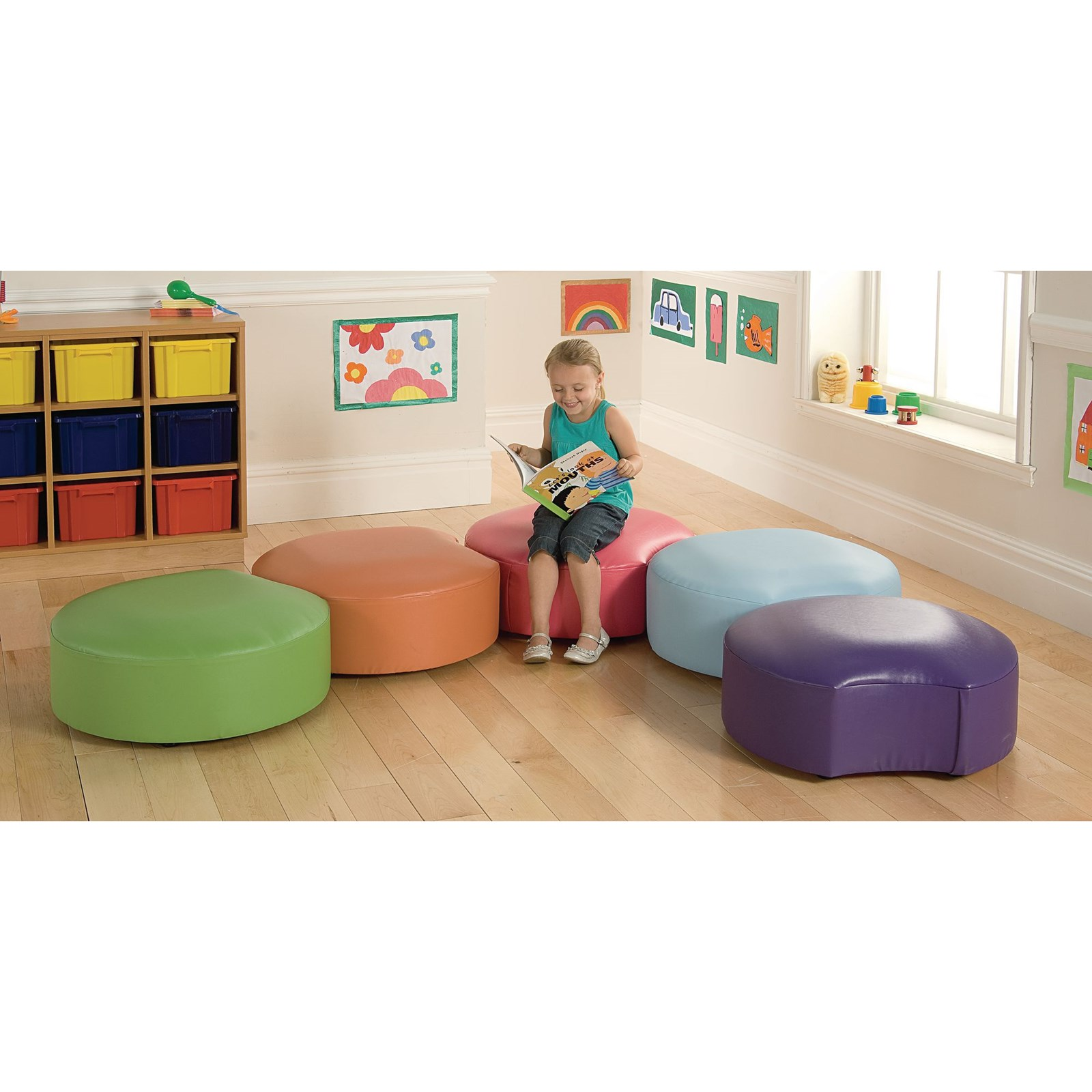 Snuggle Seating - Brights Pack of 5