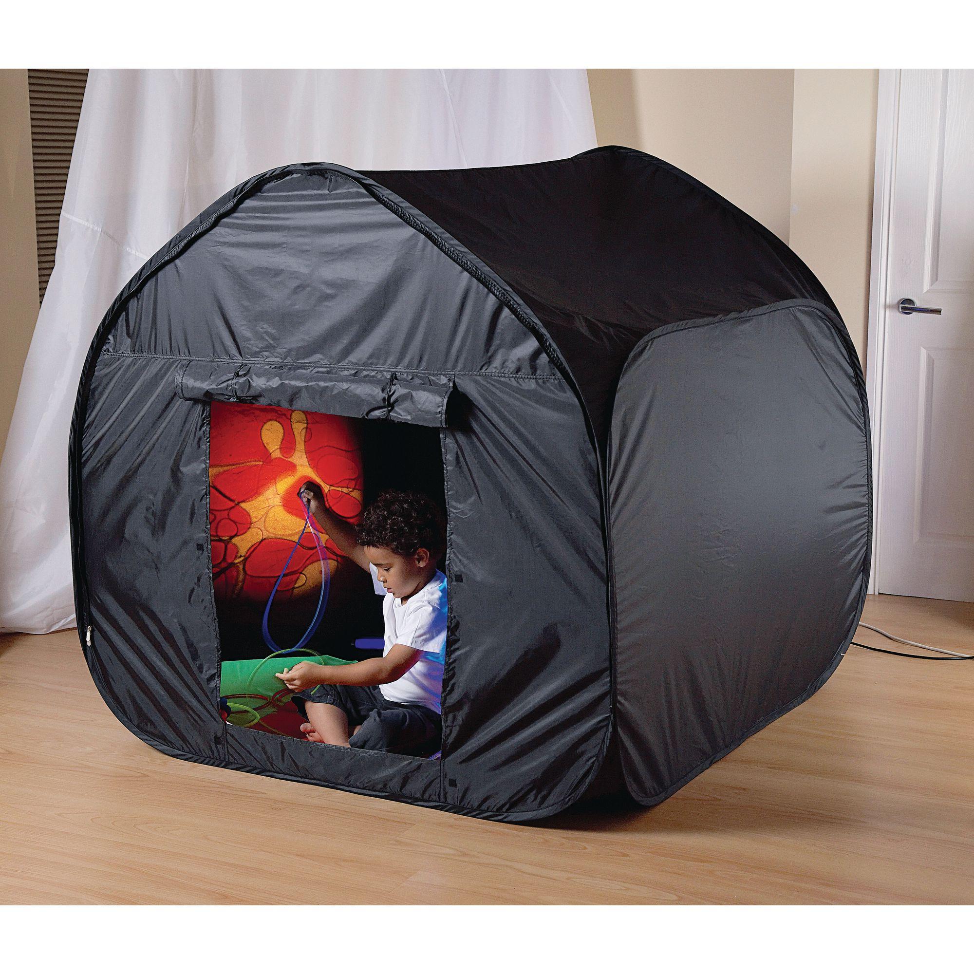 Sensory Black Out Tent - Black & Sensory Black Out Tent - Black | LDA Resources