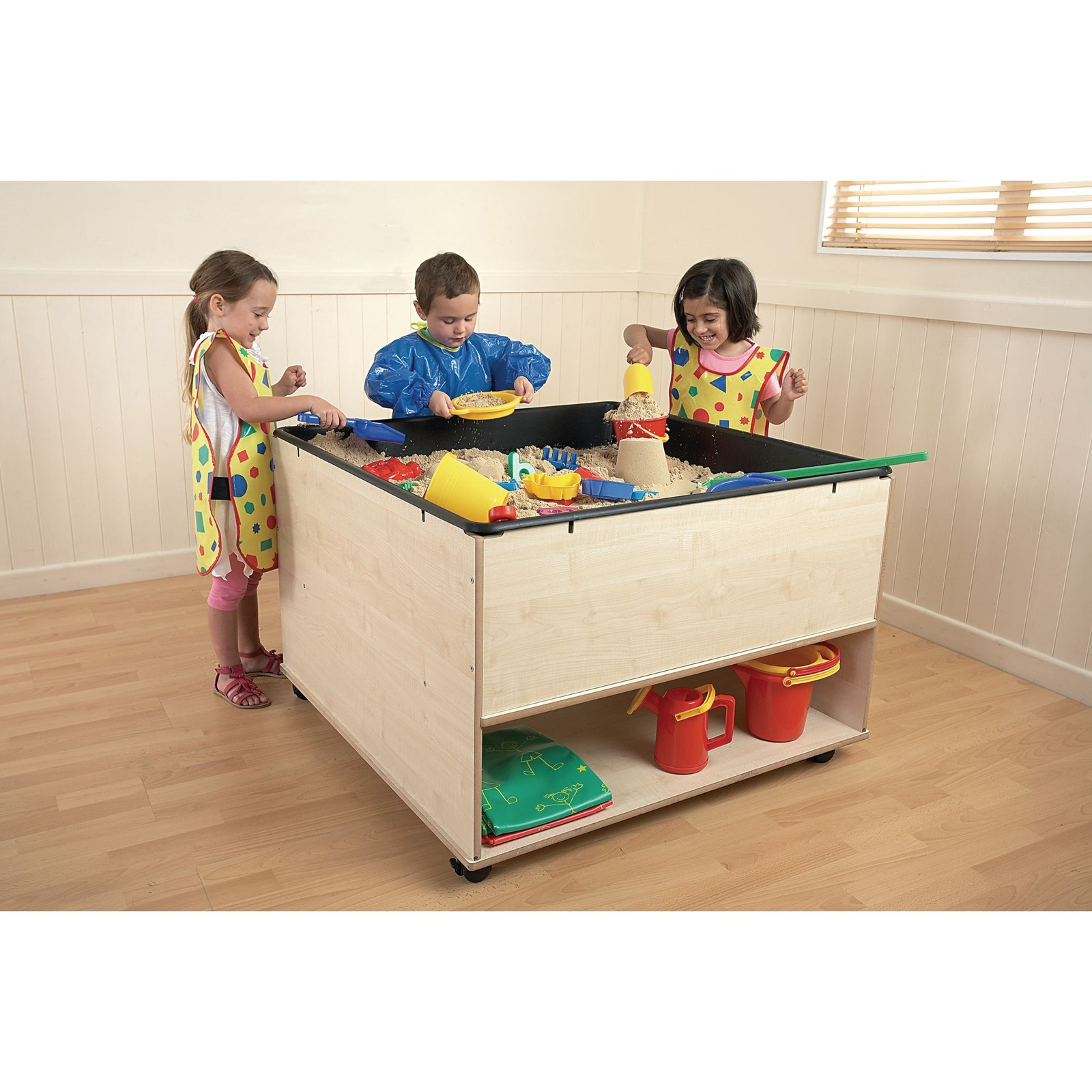 Creation station wooden stand with storage hope education for Creation stand