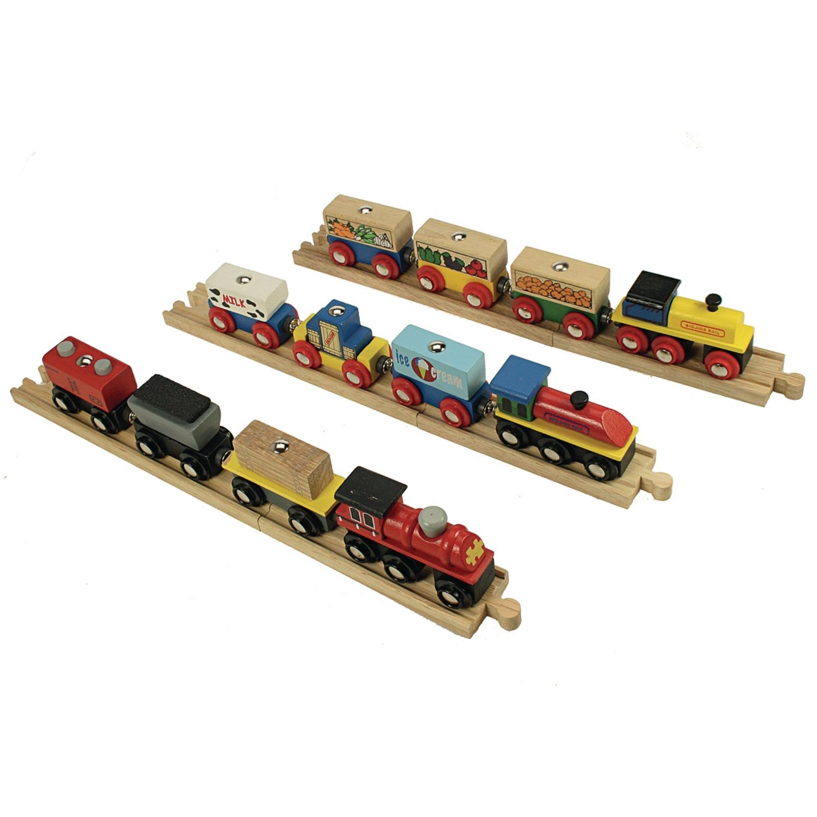 Transportation Trains - Pack of 3
