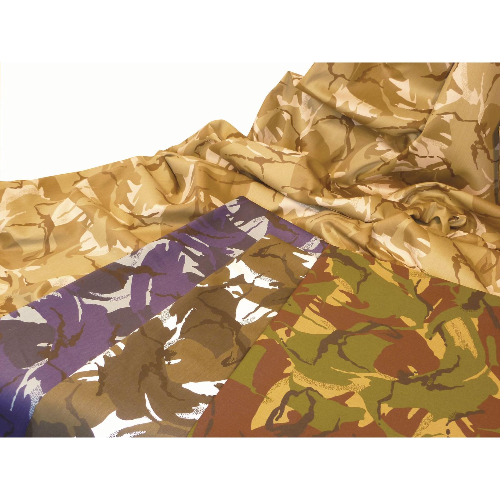 Camouflage Fabric - Jungle