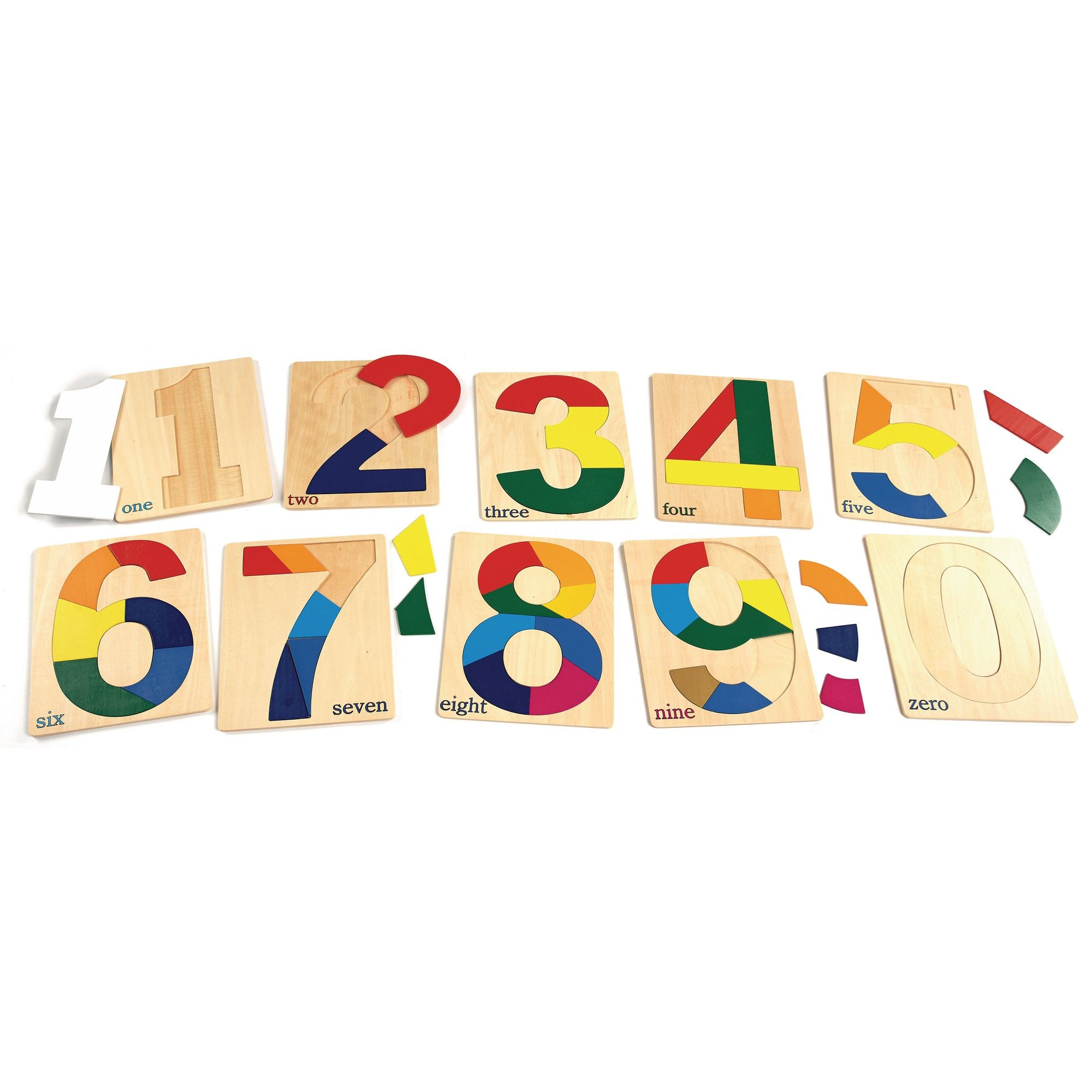 Number Puzzles 0-9