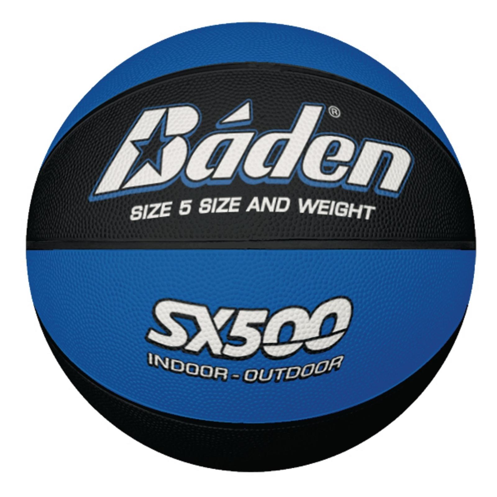 Baden SX500 Basketball - Size 5 - Blue/Black