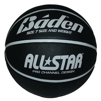 531eff92d64d Báden® All Star Basketball - Black White - Size 7