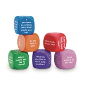 Conversation Cubes Pack of 6