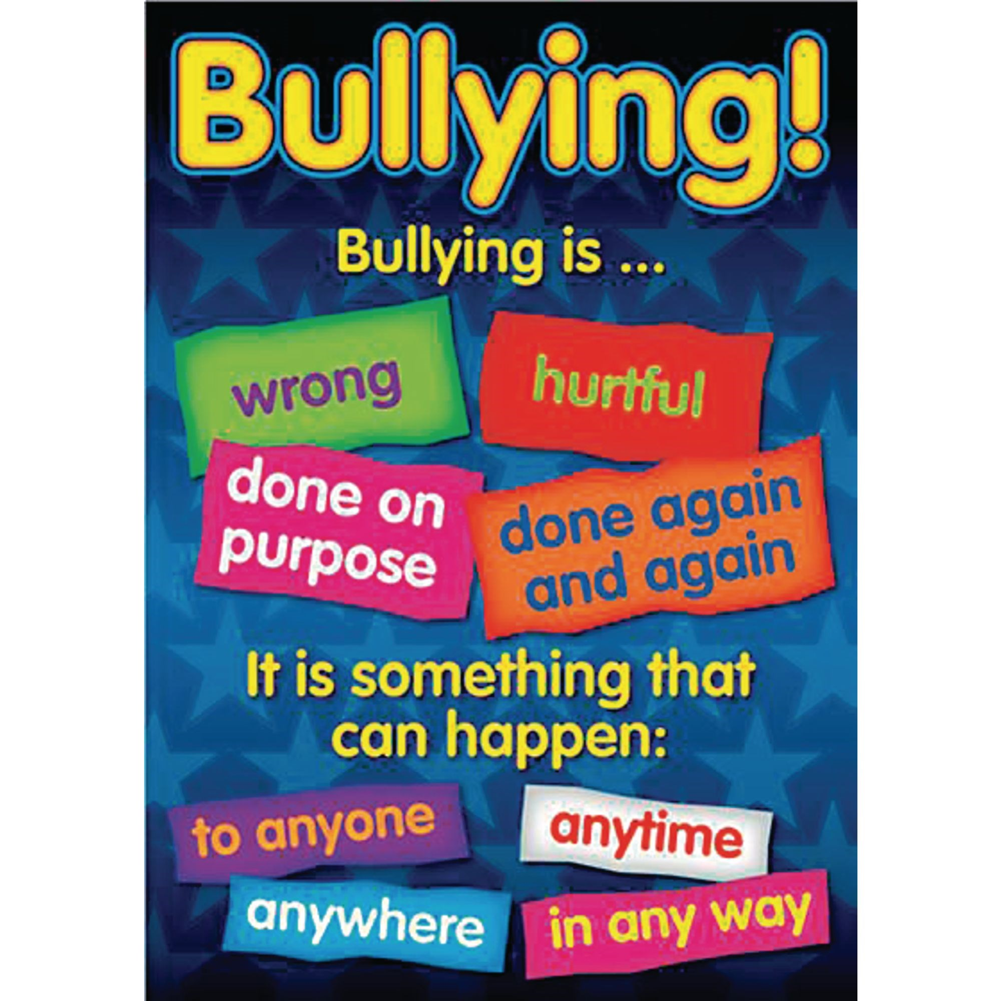 Bullying Poster Set of 6