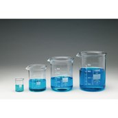Simax® Borosilicate Beakers, Squat Form with Spout - 1000mL