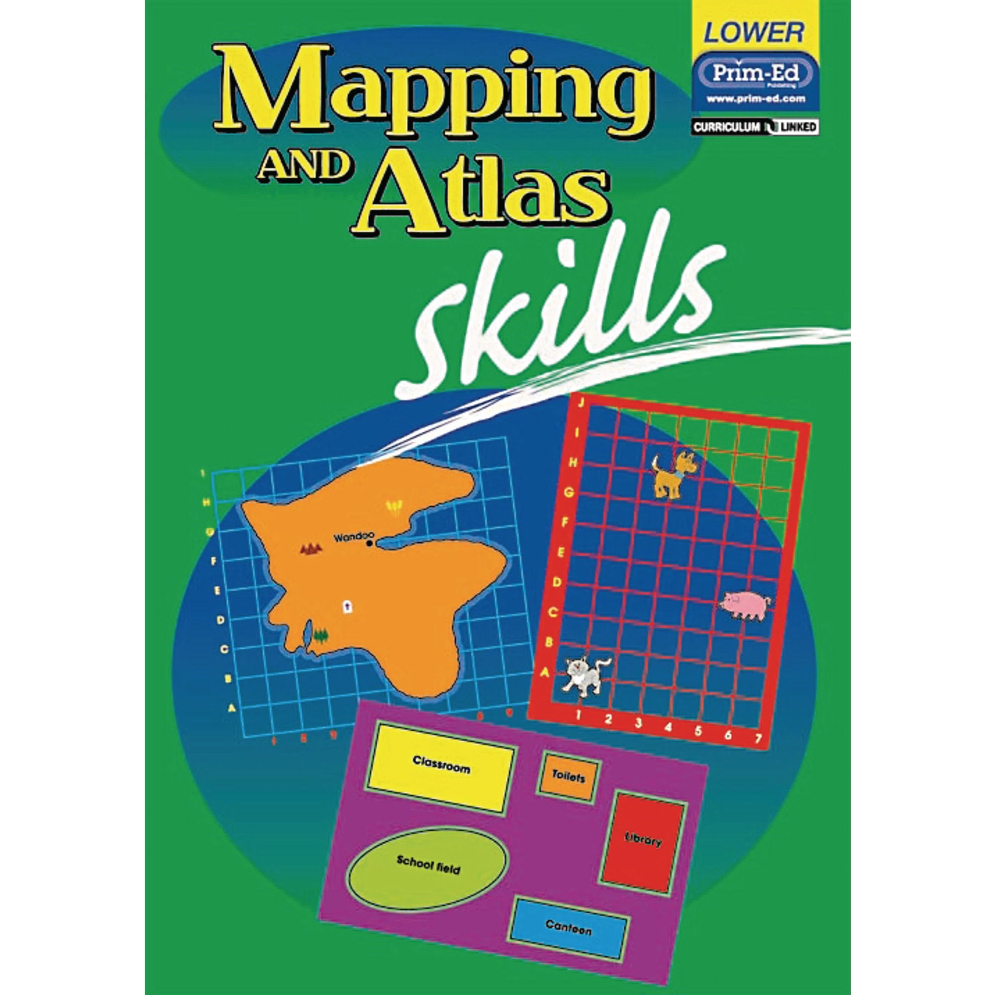 Mapping And Atlas Skills - Lower