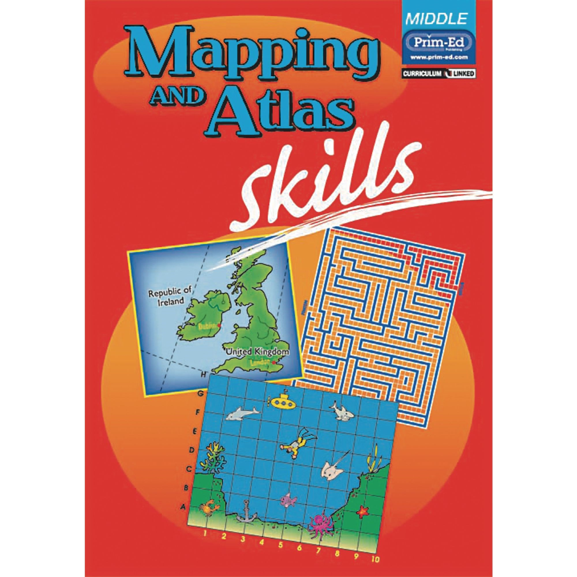 Mapping And Atlas Skills - Middle