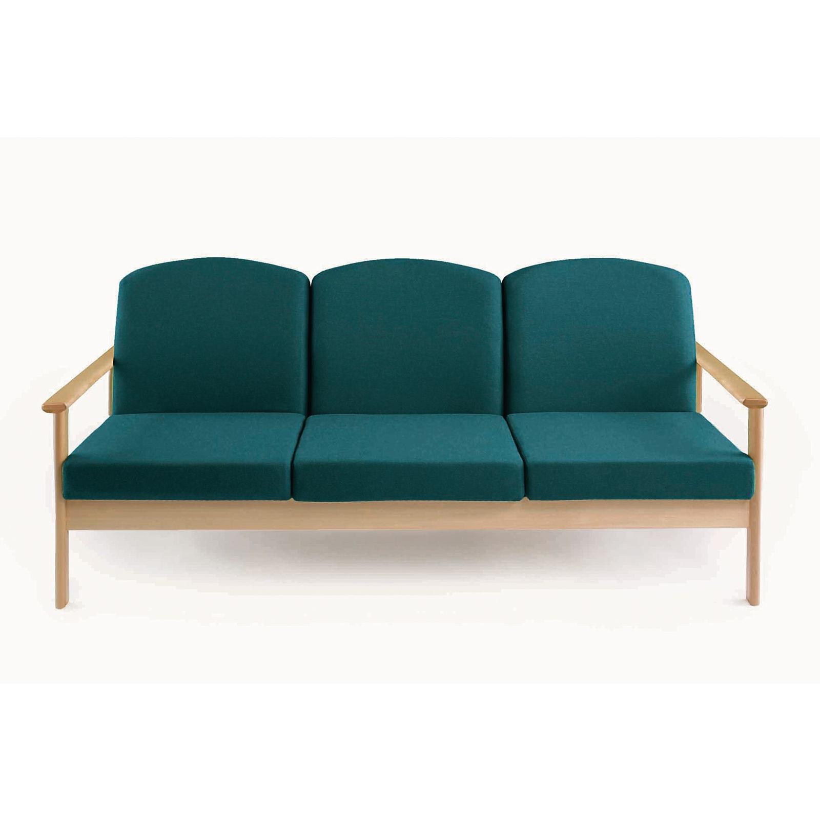 Thatcher 3 Seater - Claret