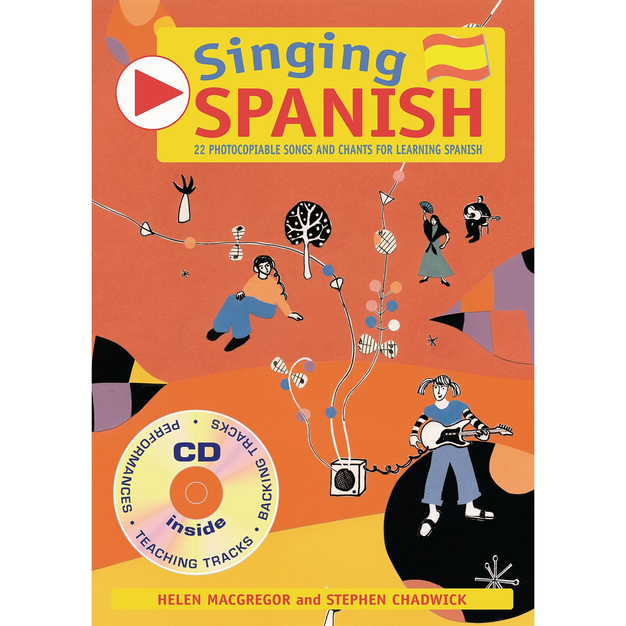 Singing Spanish CD and Book