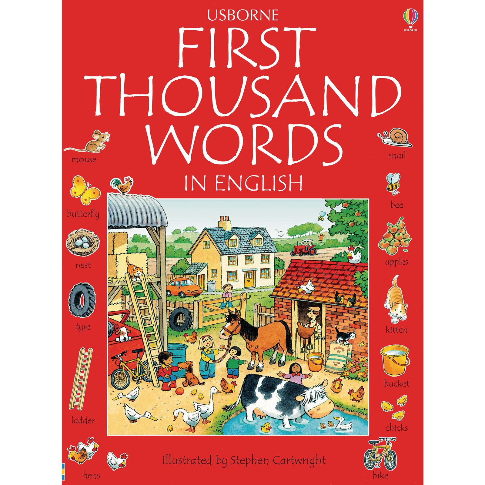Usbourne First Thousand Words in English