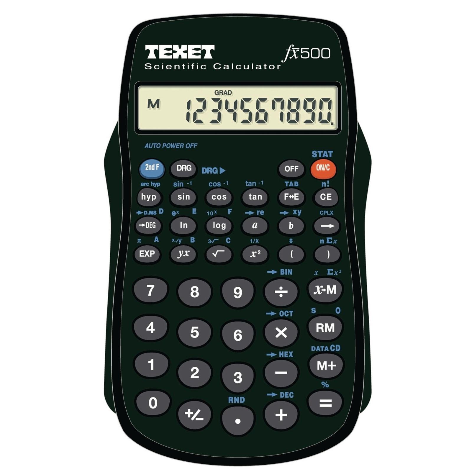 Texet FX500 Scientific Calculator