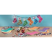Multi Stocking Bunting and Shapes