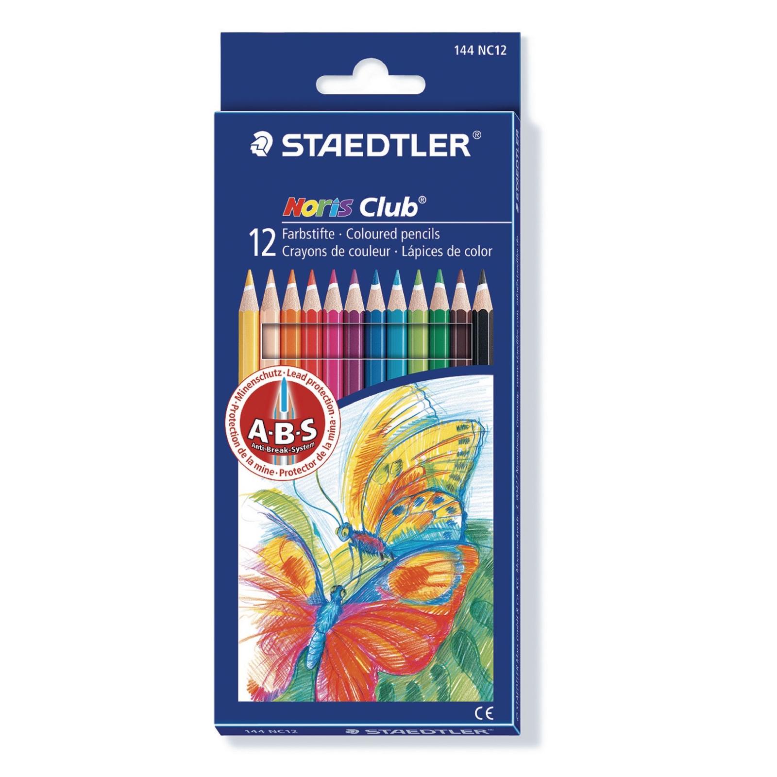 Staedtler Noris Club Colouring Pencils - Black