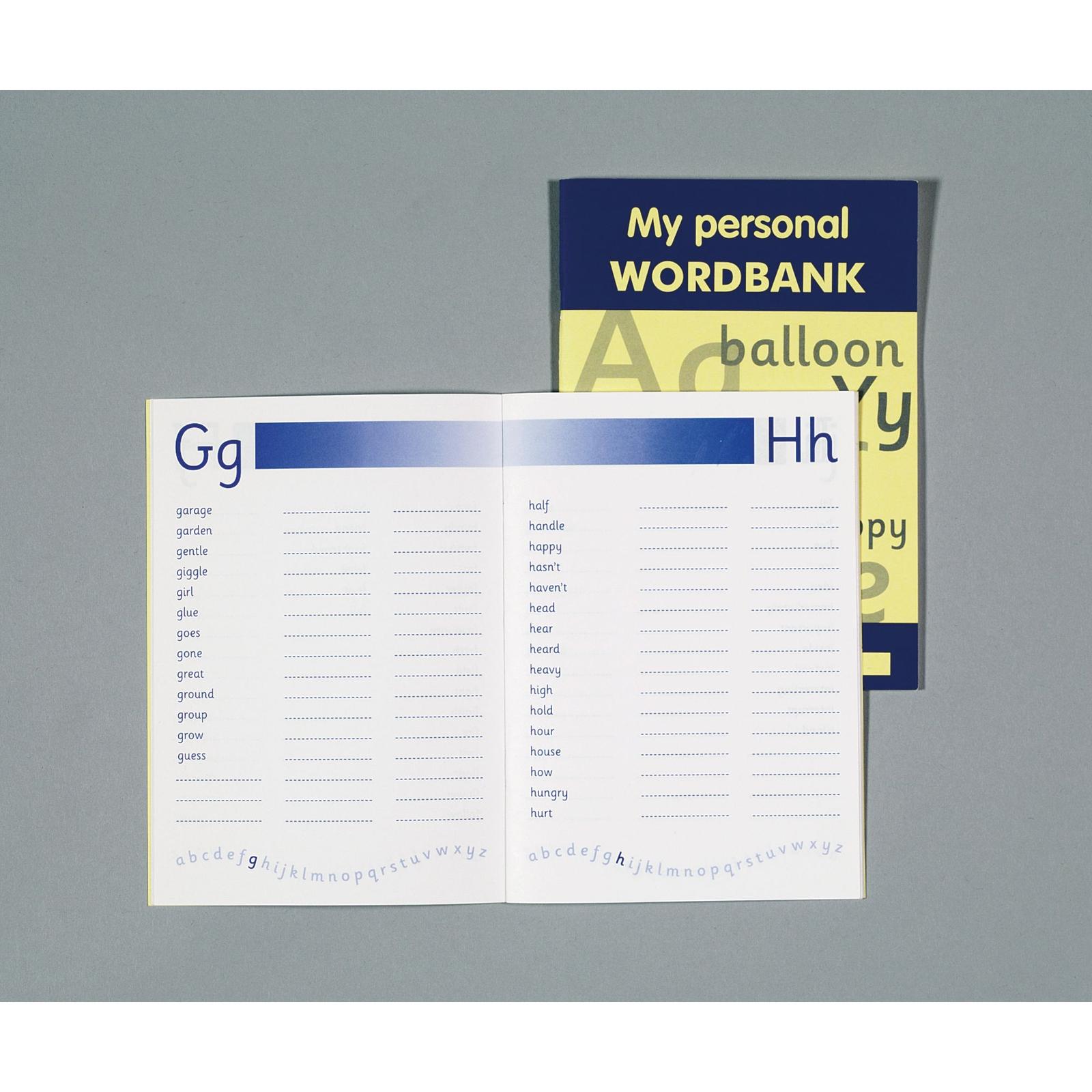 My Personal Wordbank Pack of 10