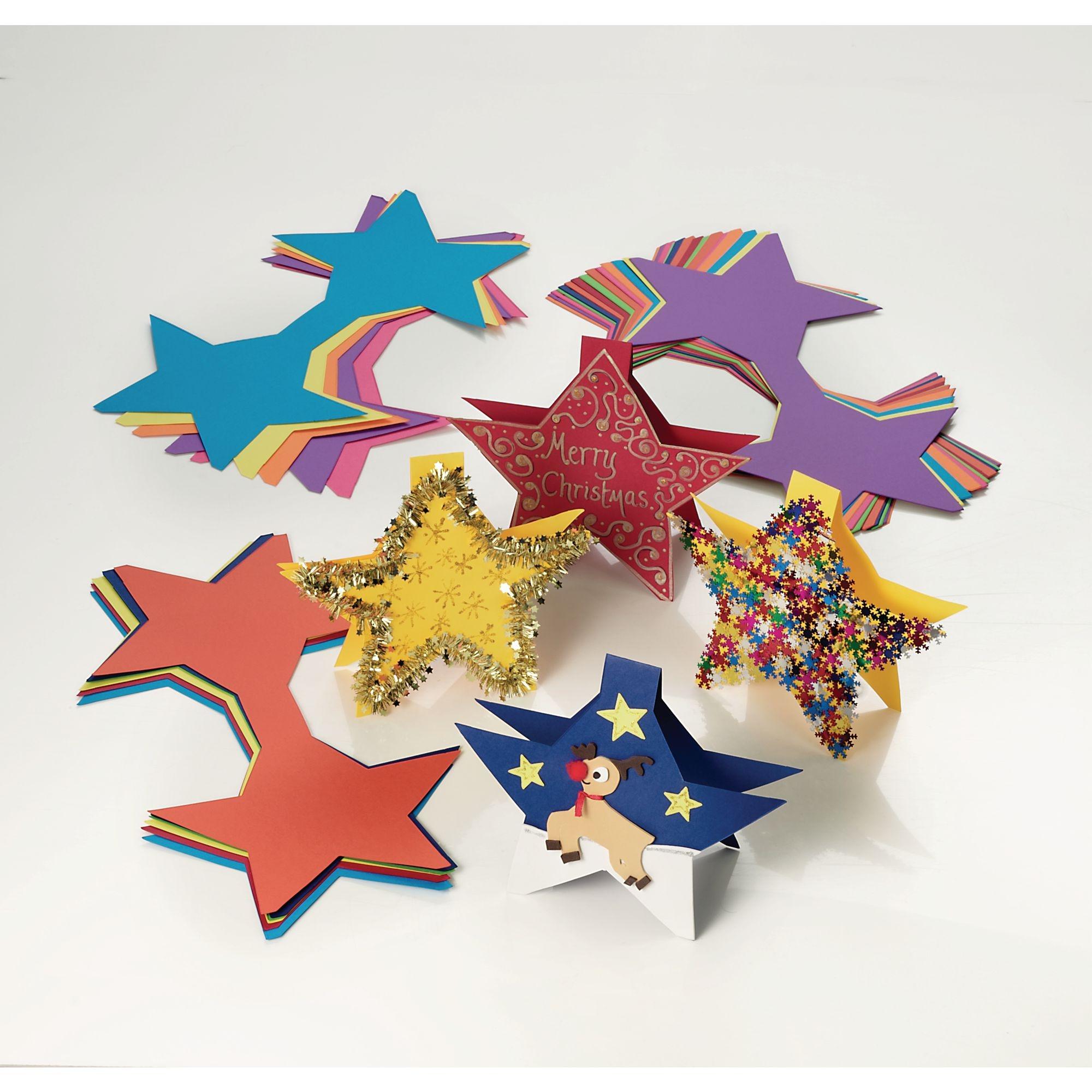 Jumbo Star Cards (Pack of 30)