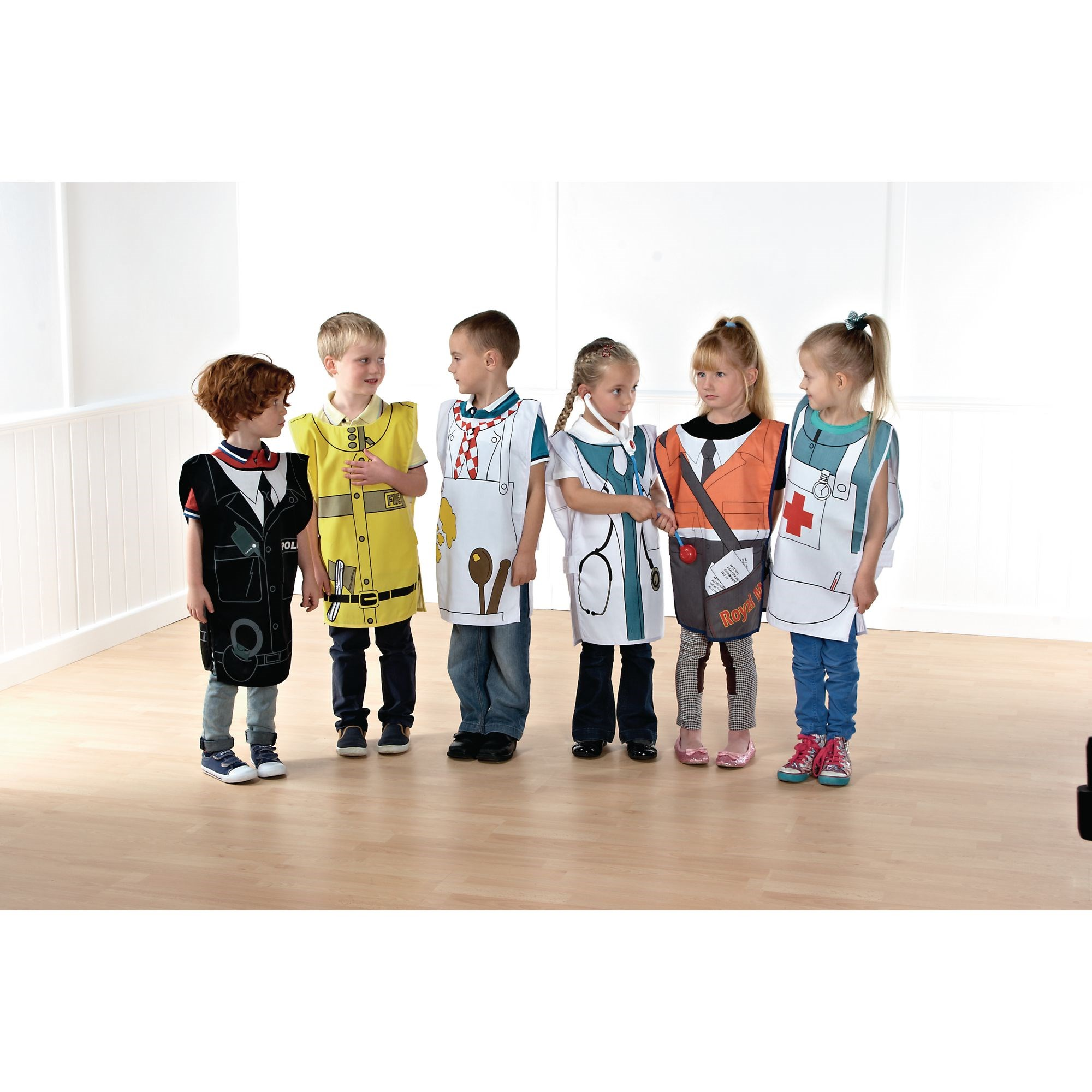 Occupational Tabards Set 1 - Pack of 6