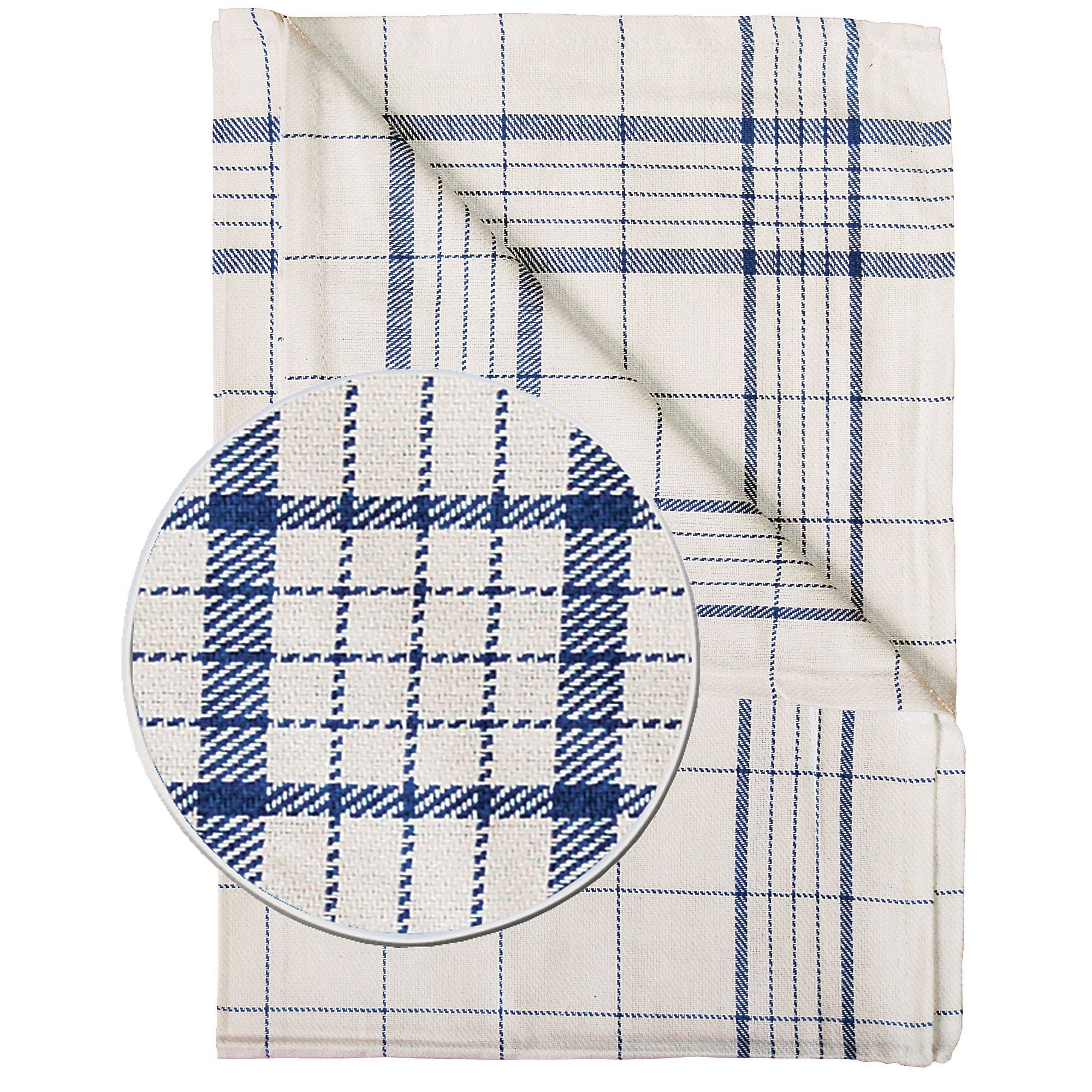 Classmates Catering Tea Cloth Blue (Pack of 10)