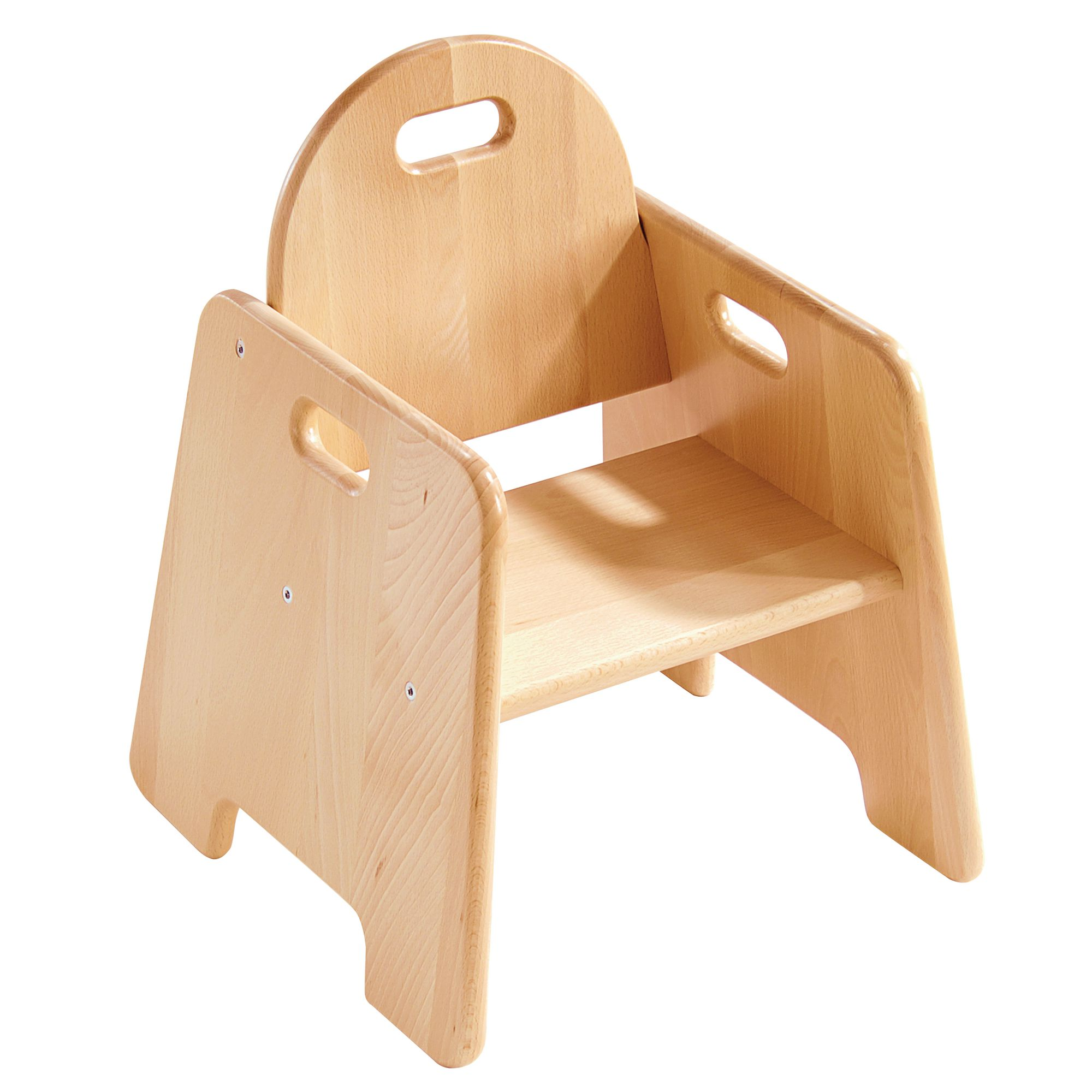Delightful Sturdy Chair   Seat Height 200mm Pack Of 2 Pack Of Two