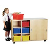 12 Trays - Lockable - Mobile