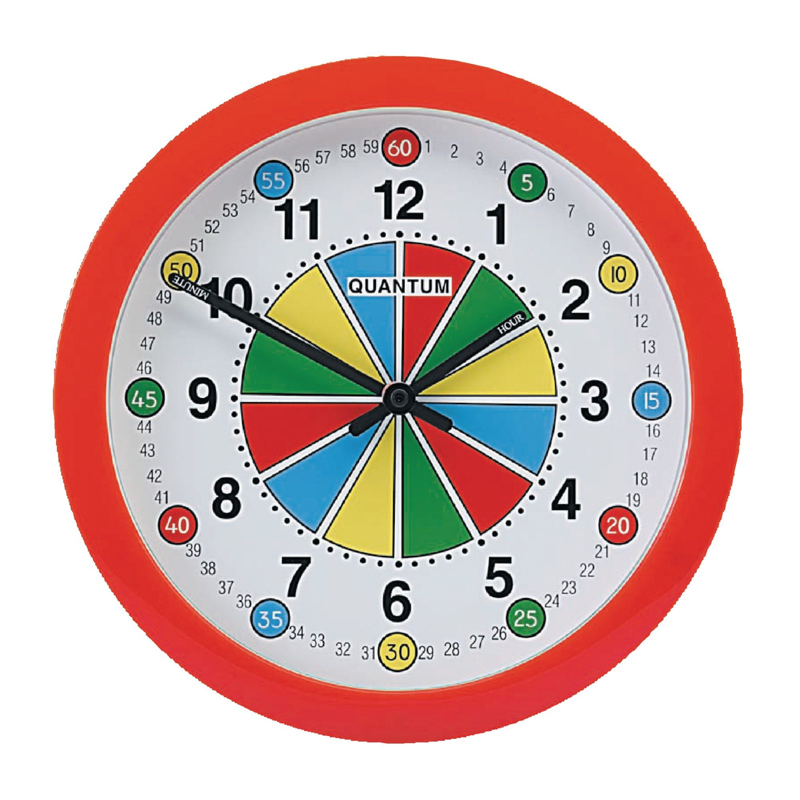 Quantum 290mm Teaching Wall Clock