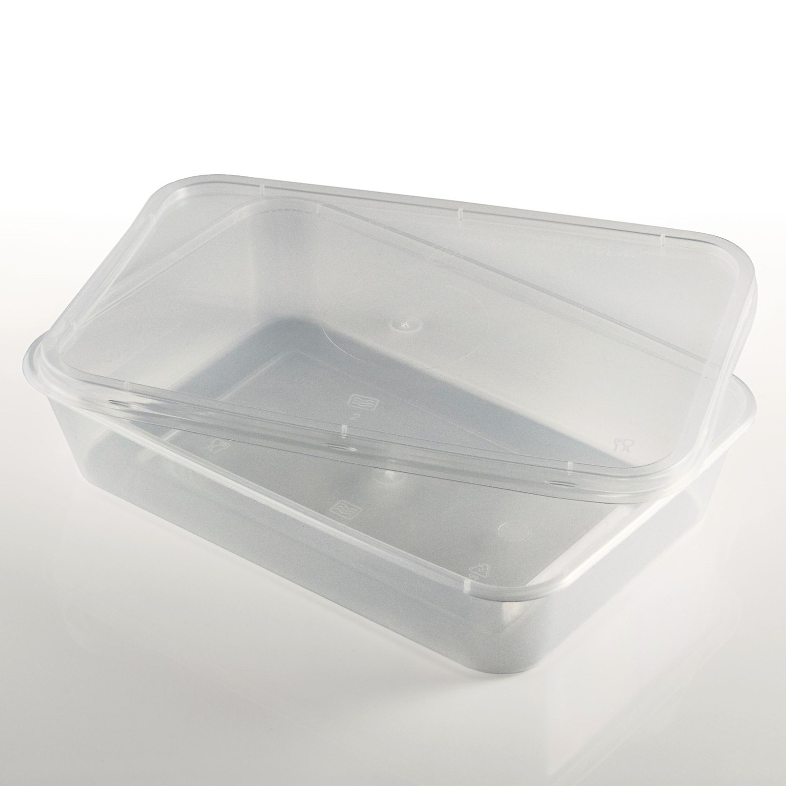 Microwave Containers - 500ml
