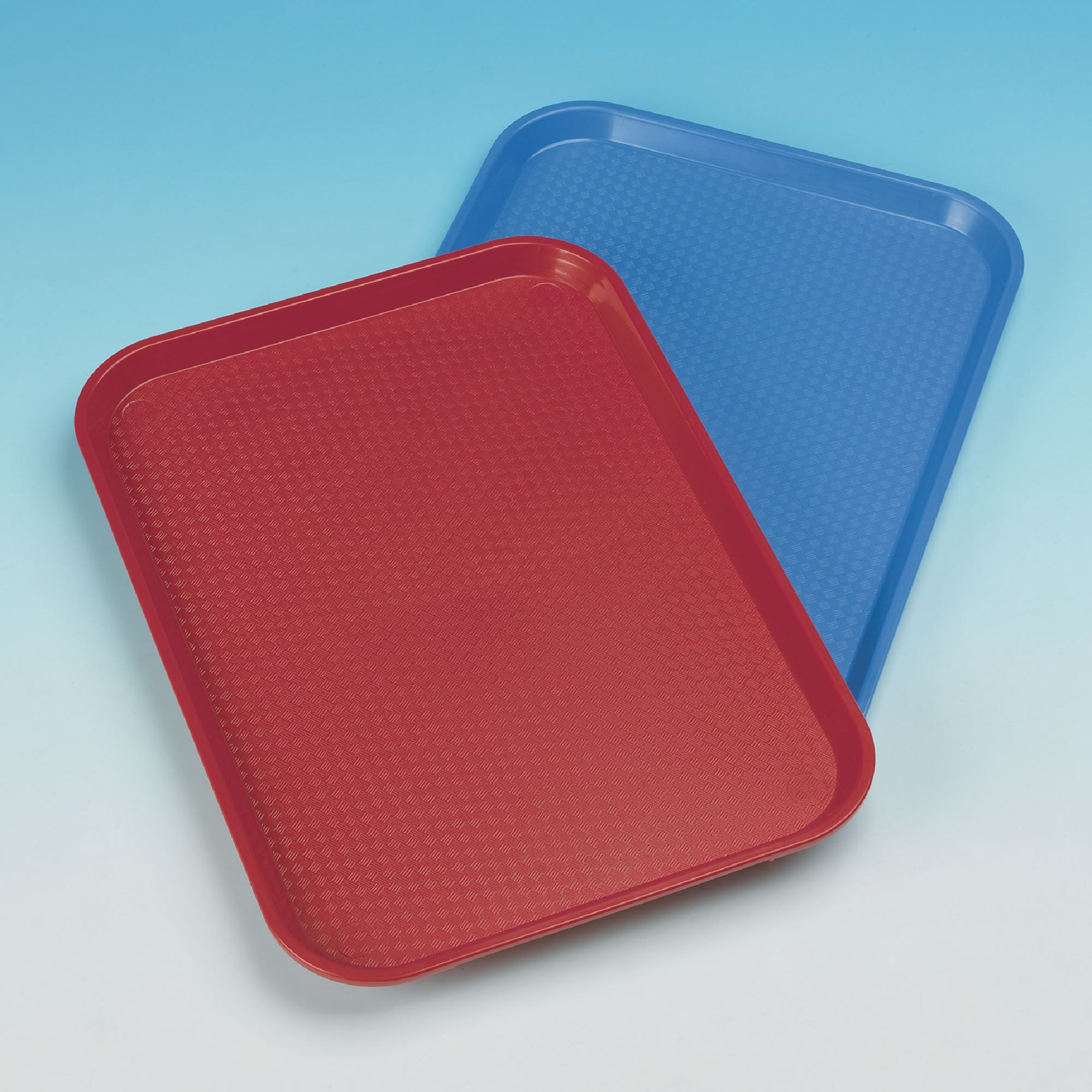 Polyproplene Fast Food Trays Red 406 x 305mm