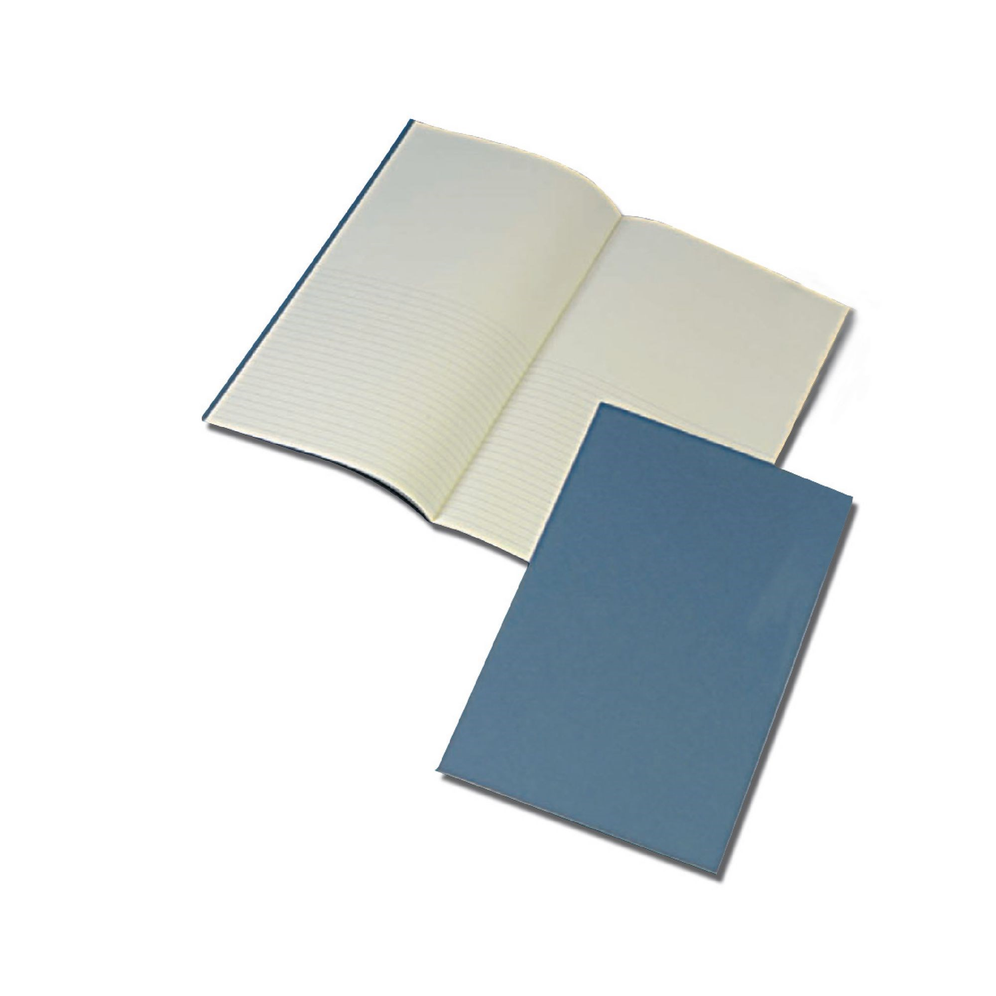 Classmates Blue 365 x 204mm Project Book 24 Pages 8mm Ruled/Plain Split (Pack of 12)
