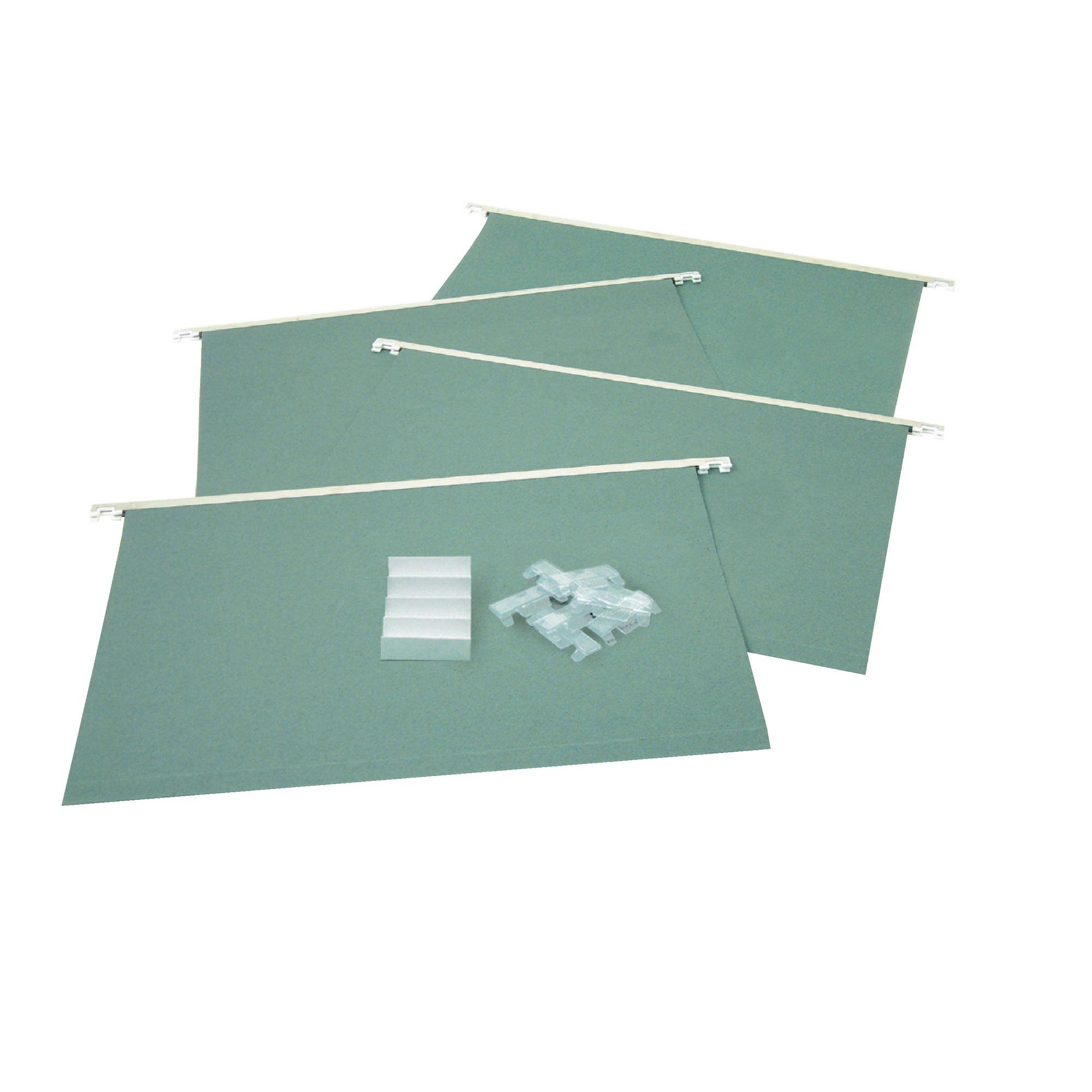 Classmates Suspension Files Plastic Tabs (Pack of 50)