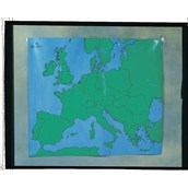 Playcloth Outline Map - Europe