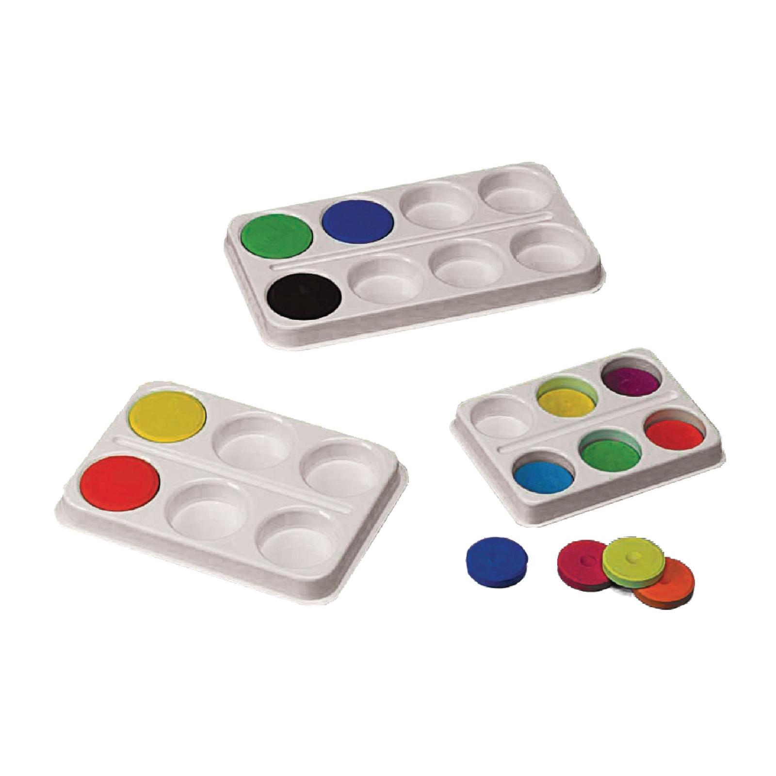 Large Colour Block Palettes