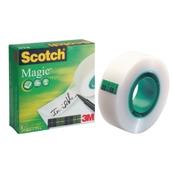 Scotch® Magic Tape Clear  19mm 33m - Pack of 3