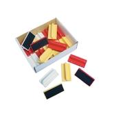 Edding Mini Magnetic Board Eraser  Assorted - Pack of 20