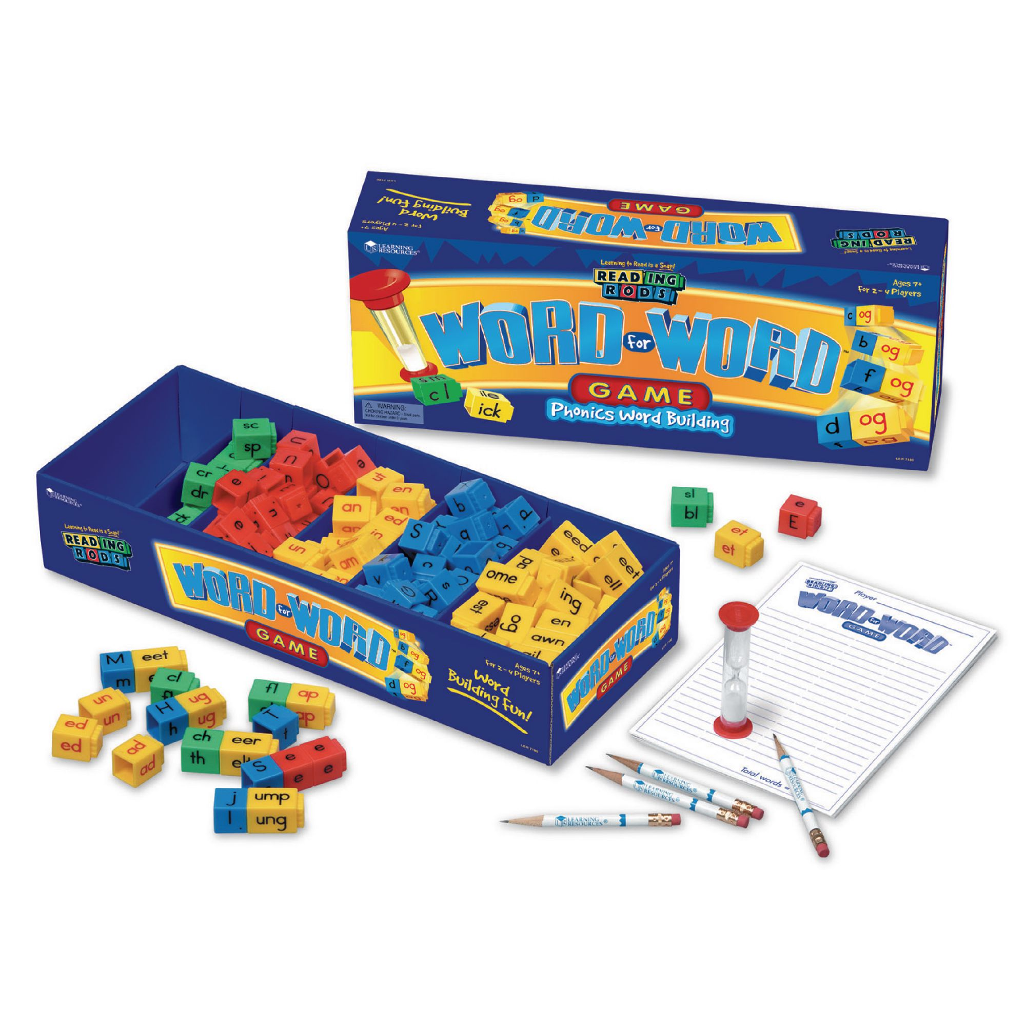 ABMT12538 - Word for Word Phonics Game | LDA Resources