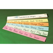 Kaleidoscope Sentence Strips