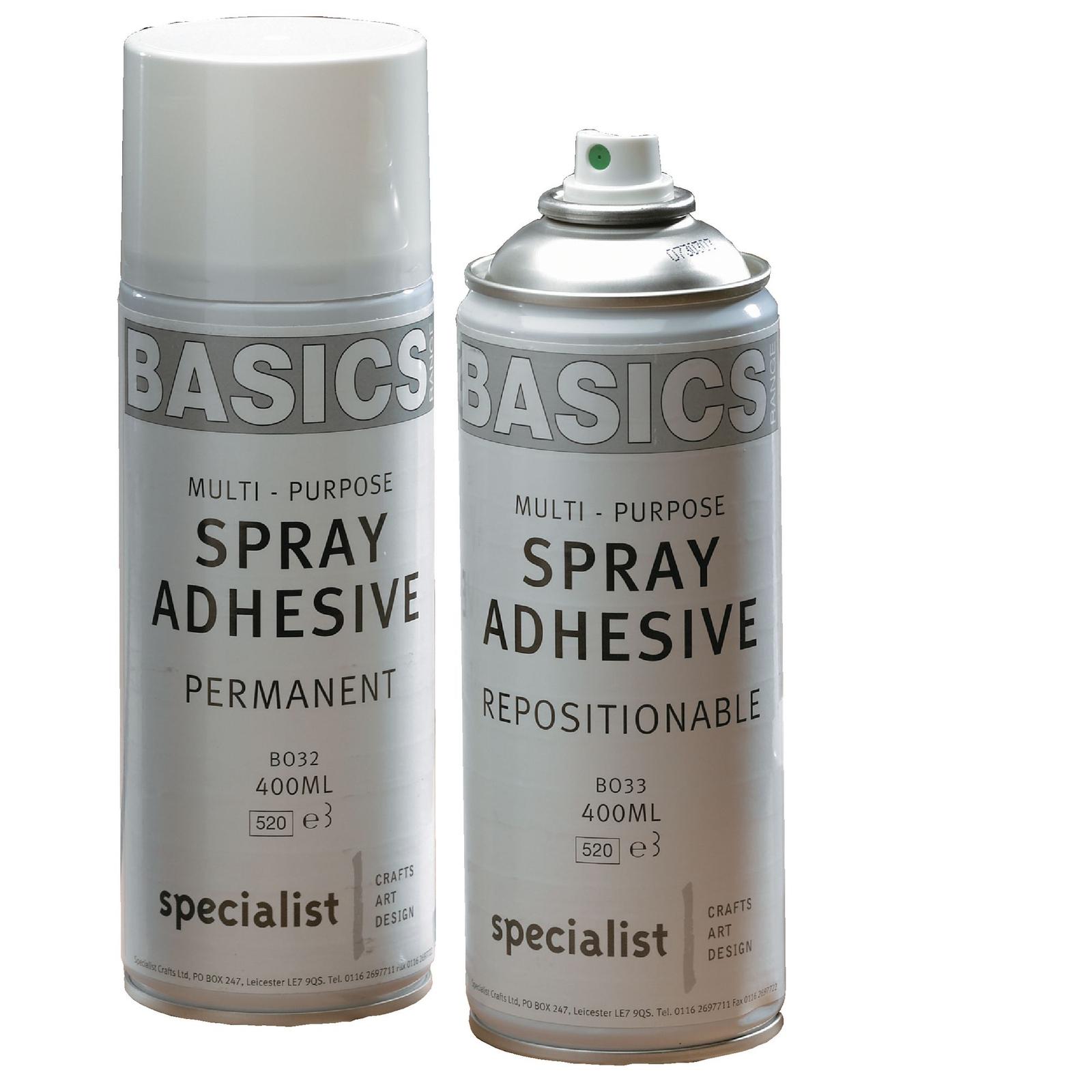 Basics Re-Tak Spray Adhesive