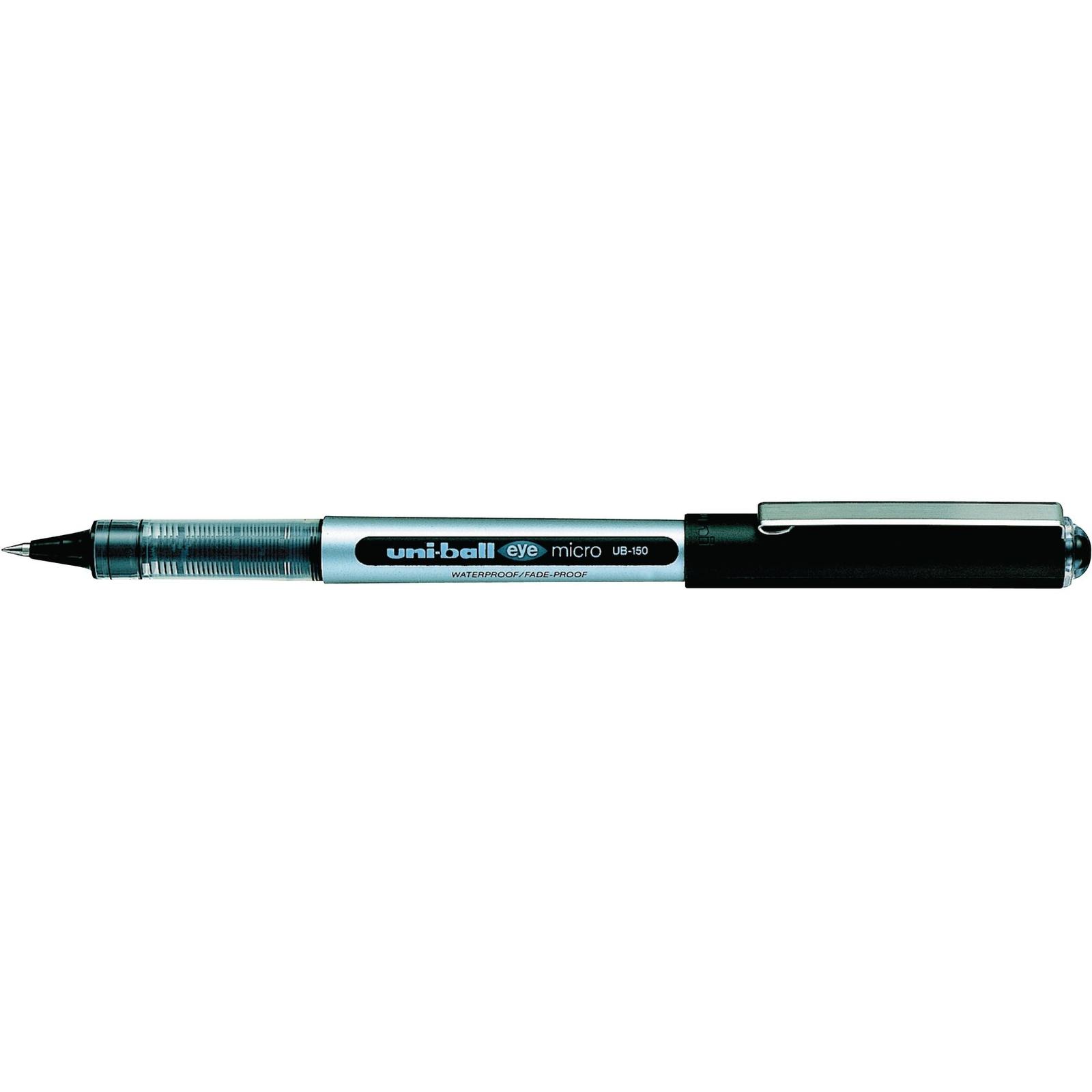 Uni-ball Eye Micro UB-150 Rollerball Pen Blue - Pack of 3