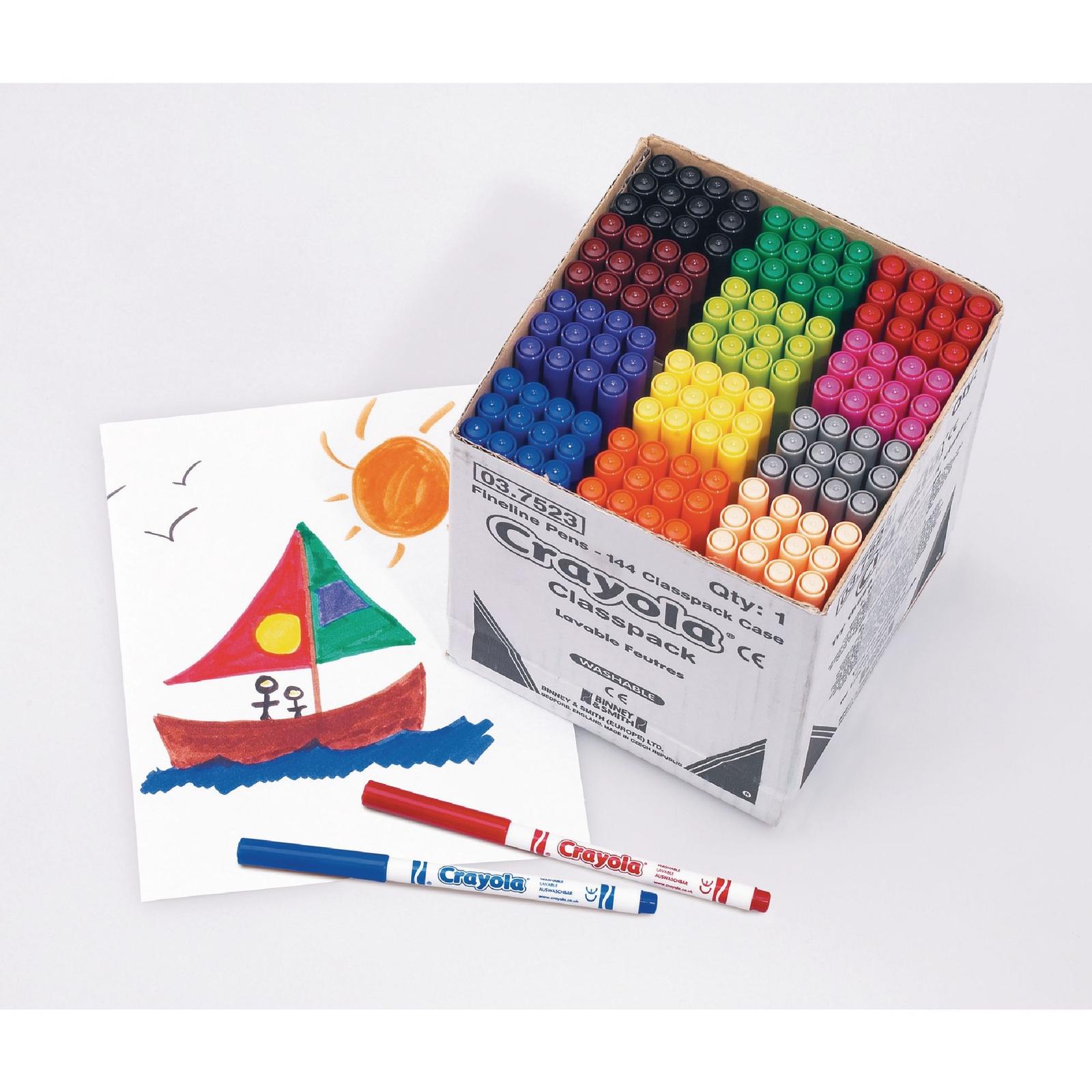Crayola Fine Line Marker Pens
