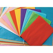 Remnant Tissue Paper Assorted Sizes - Pack of 60