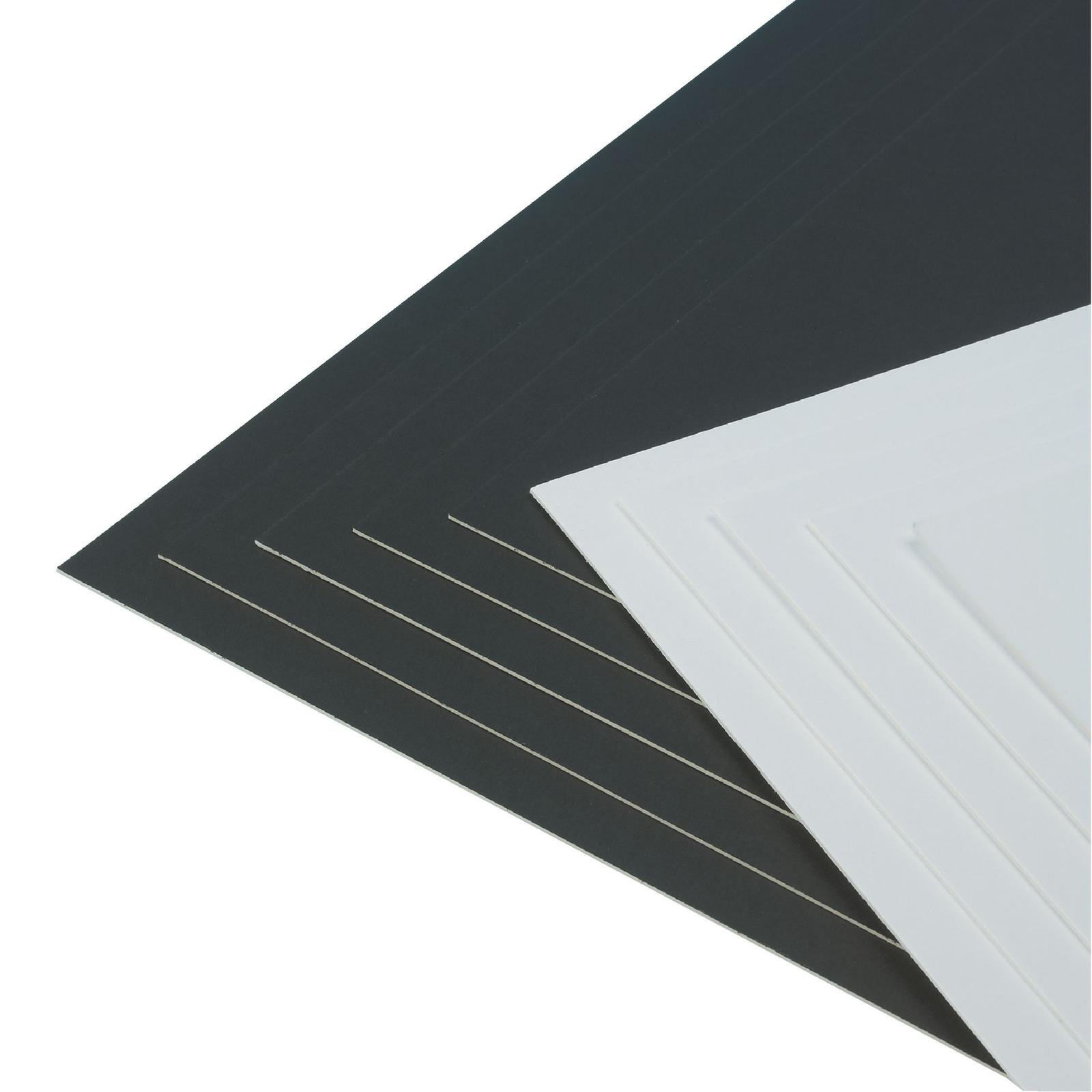 Educraft Colourmount Mounting Board - White A1