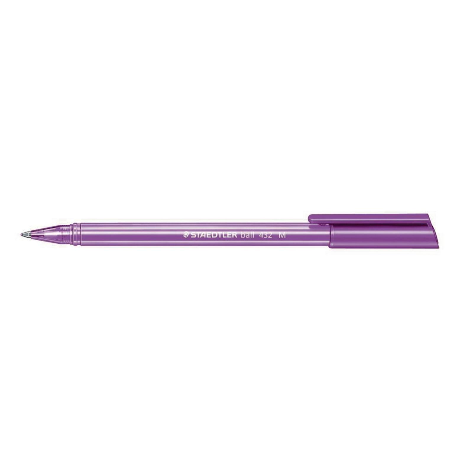 Staedtler Ball 432 Ballpoint Pen Assorted - Pack of 10