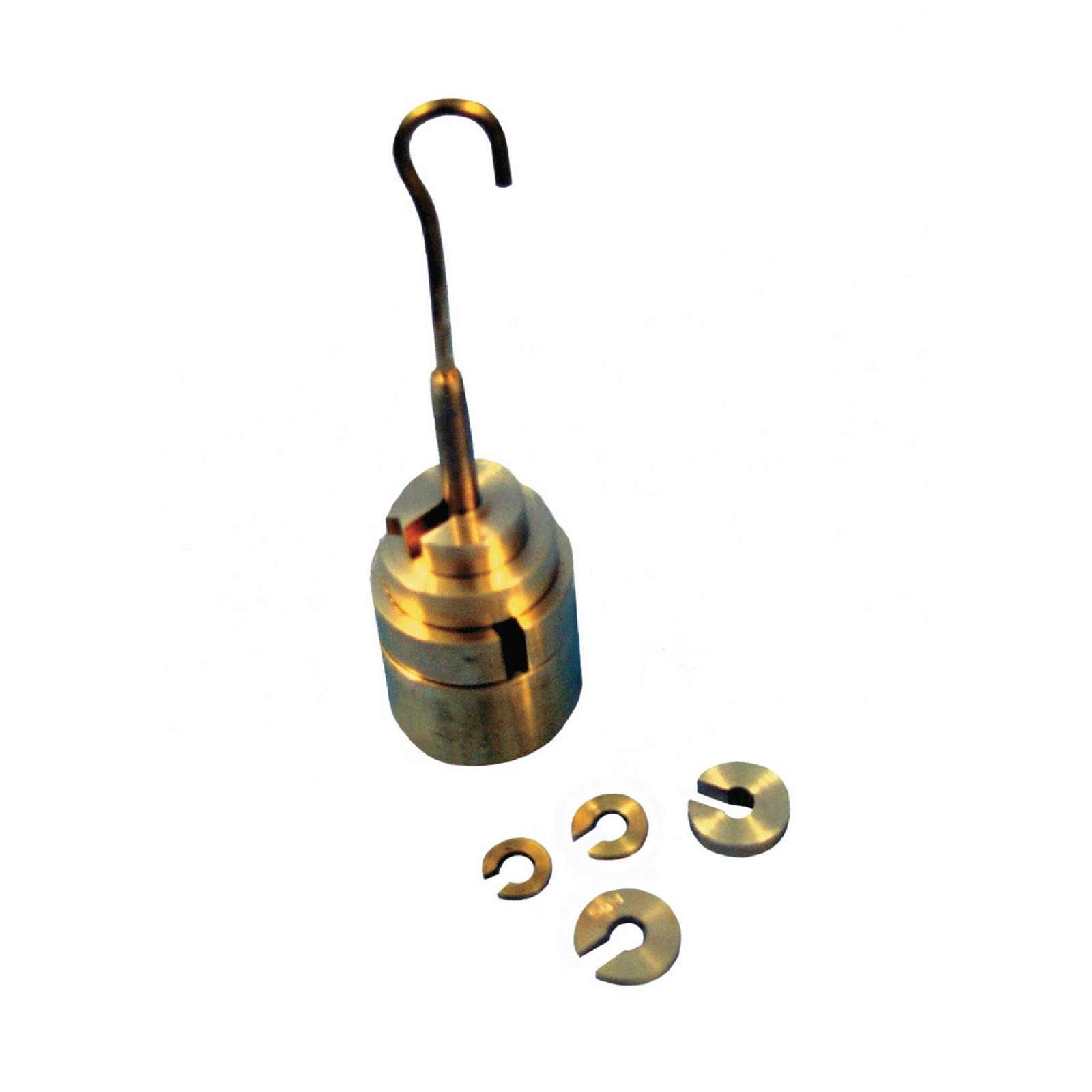 Brass Hanging Weights (Various Masses)
