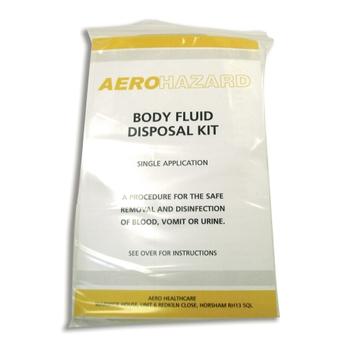 Body Fluid Disposal Kit Single Application G466290