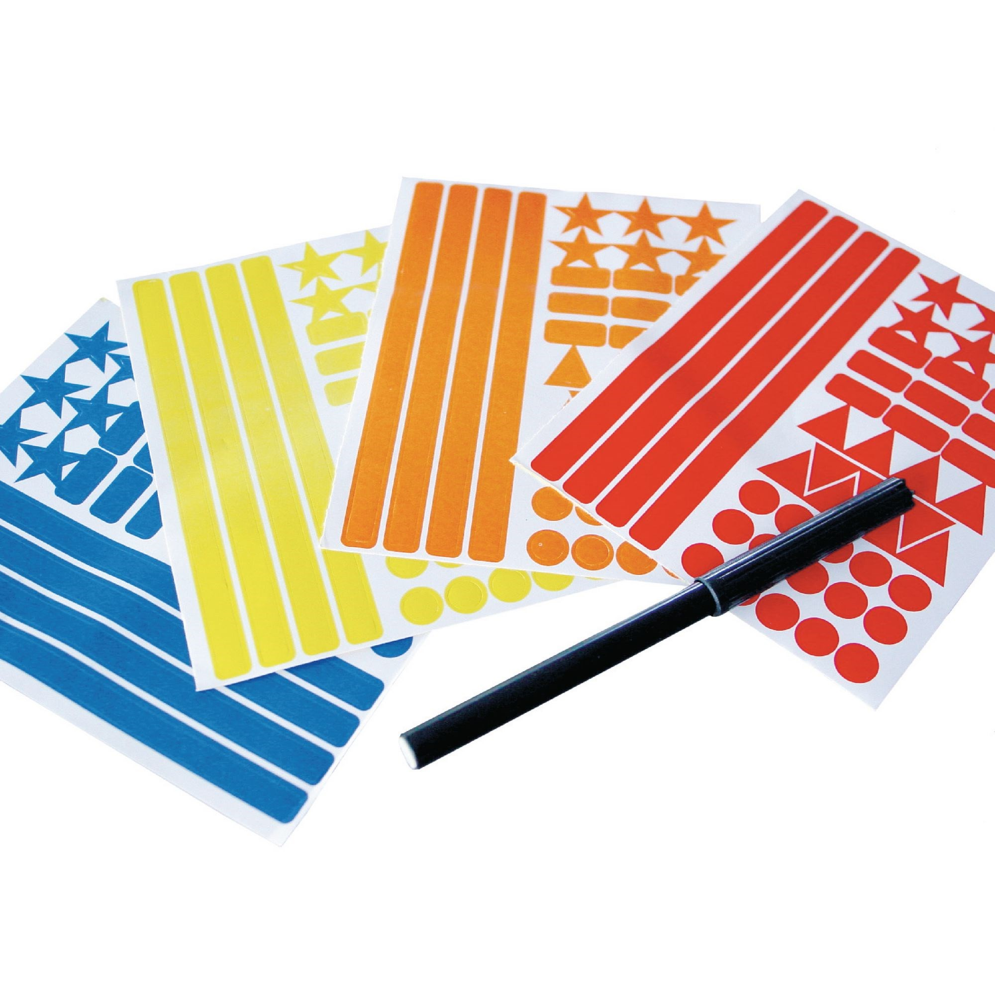 Wall Chart Pen And Stickers Pack
